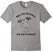 Pit Bull Puppy Shirts - Ban The Ignorant, Not The Innocent