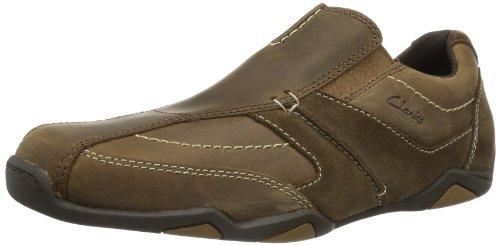 Clarks Rawson Line - Brogue de cuero hombre marrón - Braun (Braun)