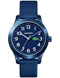 Kids 12.12, Quartz TR-90 and Rubber Strap Casual Watch, Blue, Unisex, 2030002