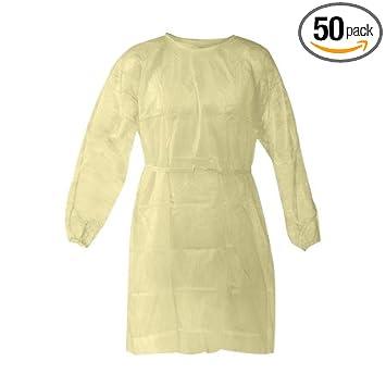Amazon.com: Tamaño del traje de aislamiento desechable: 50 ...