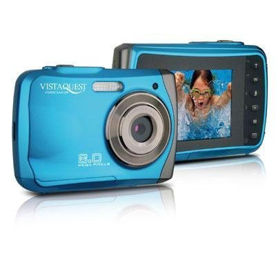 VQ-8920 Sport Blue 8MP Uw Cam Vistaquest Video Cameras