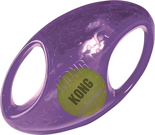 KONG Jumbler Football Toy, Large/X-Large,Color may vary
