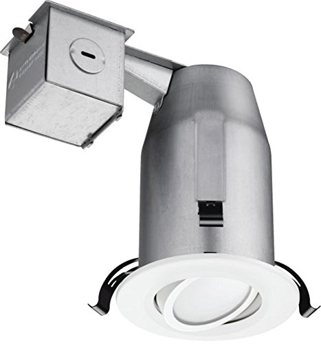 Lithonia Lighting LK3GMW LED LPI M6 3 Inch Gimbal Kit with LED Lamp Included in White by Lithonia Lighting