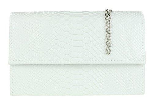Girly pour Blanc femme Pochette Handbags 11r4qxwOU