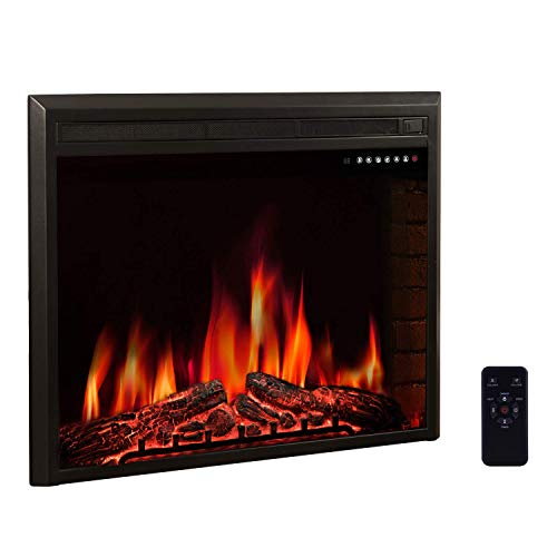 real flame electric fireplace - 3