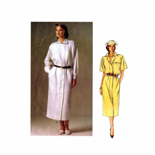 Uncut Vintage Vogue Pattern Dress - 6