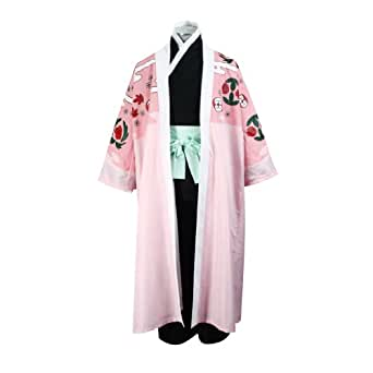 Bleach Cosplay Costume Shunsui Kyouraku Cloak Large