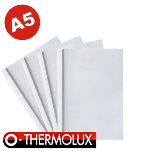 25 Thermobindemappen ThermoLux, DIN A5, 10.0 mm FALAMBI / BestPreisArtikel