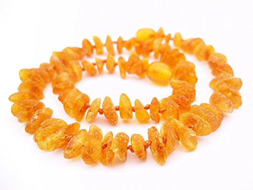 Premium 100% Genuine Raw Baltic Amber Necklace 32cm . Free Delivery. Money Back Guarantee. S0Oam9FL