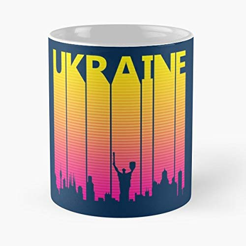 Ukraine I Love Uk - Best Gift Ceramic Coffee Mugs]()