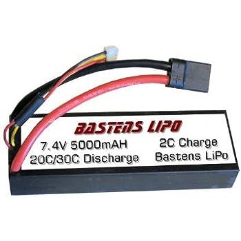 Amazon com: Bastens LiPo 7 4V 5000mAH upgrade battery for