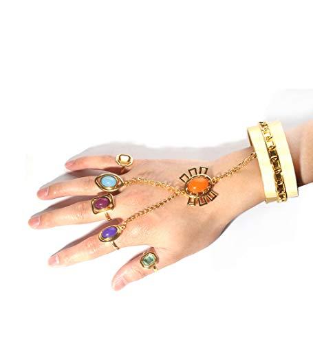 Fashion Decoration Creative Bracelet Xmas Gift Halloween Cosplay Porps (colour mixture)