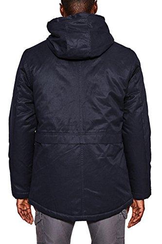 by edc 400 Hombre Abrigo Esprit Azul para Navy 4TnTpO