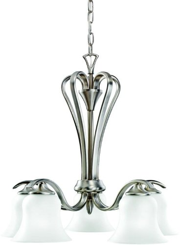 Kichler 2084NI Wedgeport Chandelier 5-Light, Brushed Nickel