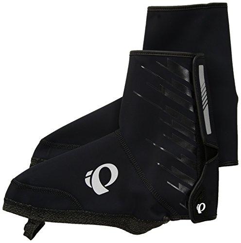 (Pearl iZUMi Elite Softshell MTB Shoe Cover, Black, Large)