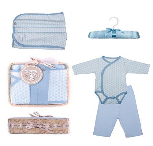 (Tadpoles Starburst Gift Set, Blue, 0-6 Months, 5 Piece)