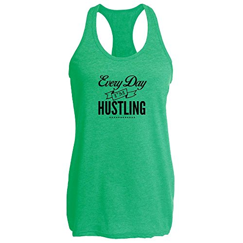 Pop Threads Every Day Im Hustling Heather Kelly M Womens Tank Top