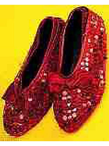 Forum Novelties Child Sequin Shoe Covers, Red -