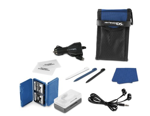 Nintendo DS Lite 15- in-1 Everyday Starter Kit - Cobalt