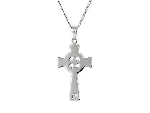 Gold Filled Celtic Cross Pendant Jewels Obsession Celtic Cross Pendant Made in USA 18 Chain