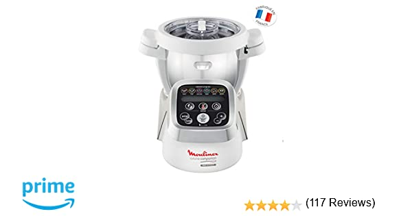 Moulinex Cuisine Companion HF802A - Robot cocina con 6 programas ...