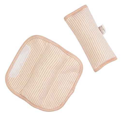 DorDor /& GorGor ORGANIC Baby Seat Belt Cushion Extra Plush 100/% Cotton Purple