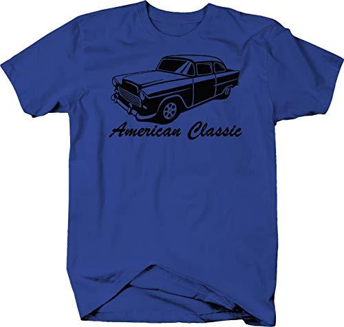 American Classic 1955 56 57 58 59 Chevy Bel Air Custom Classic Tshirt - XLarge ()