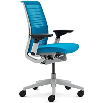 Steelcase Think Chair, Blue Jay 3D Knit