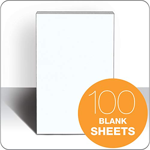 TOPS Memo Pads, 5 x 8 Inches, White, 100 Sheets per Pad, 64 Pads per Carton (7832) by TOPS (Image #1)