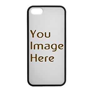 Custom Personalized Phone Case, Design Your Own Photo On The Case By Emailing Us Send Your Like Image, Game Of Thrones Iphone 5 5S Plastic And pc hard Silicone Case Black/White