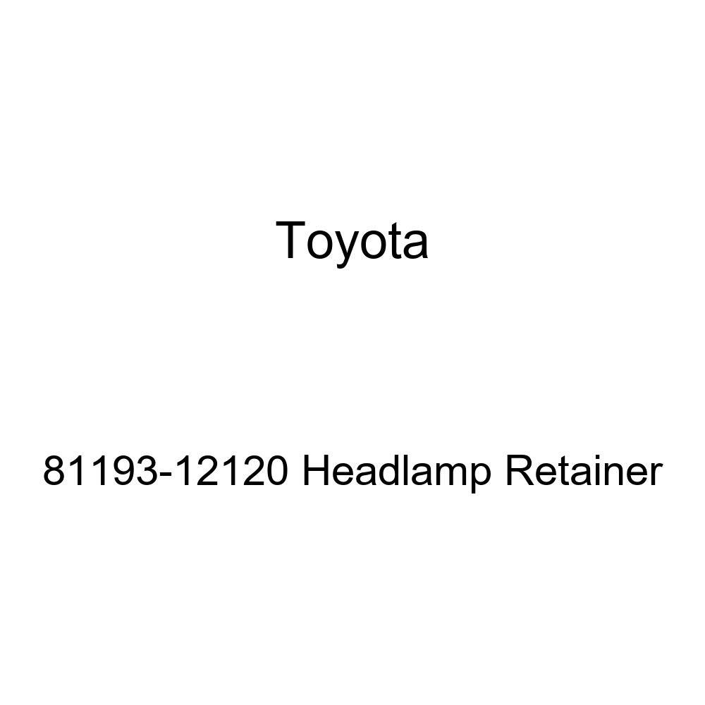Genuine Toyota 81193-12120 Headlamp Retainer