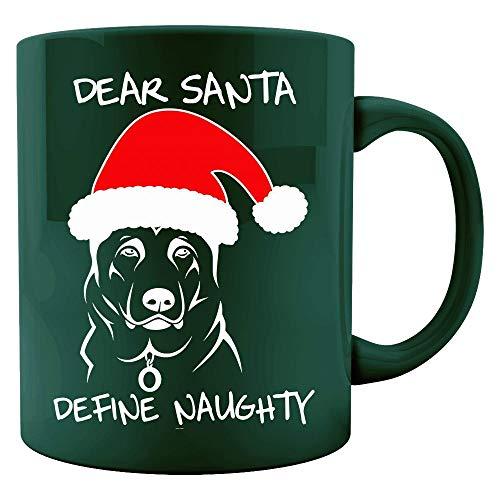 - German Shepherd ugly christmas gifts for dog lovers - Colored Mug