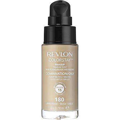 Revlon – ColorStay dispensador Piel Normal Y Mixta – Maquillaje Sand Beige