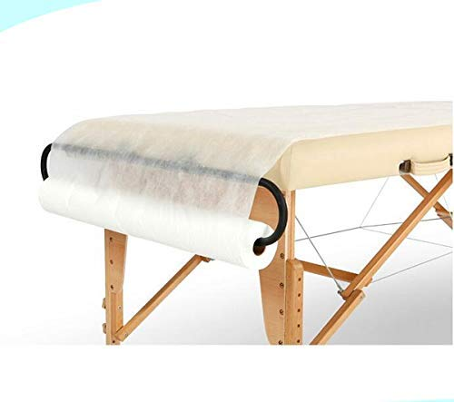 Spa Supply Jumbo Size Nonwoven Disposable Bedsheet Perforated Massage Table Sheet, Facial, Wax Chair Cover Sheet(31″ Wide X 354 Feet Long)