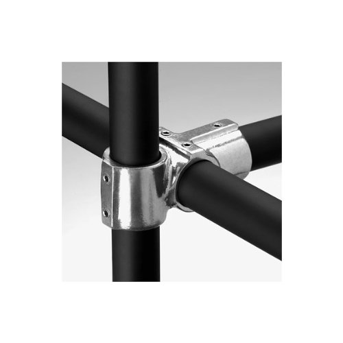 Outlet Cross (Hollaender 104-7 Side Outlet Cross Aluminum Magnesium 1-1/4