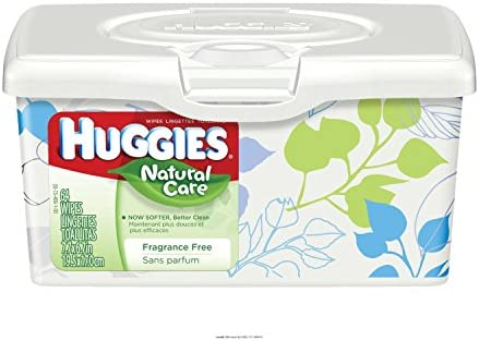 Huggies Natural Wipes HUGGIES Kimberly Clark product image