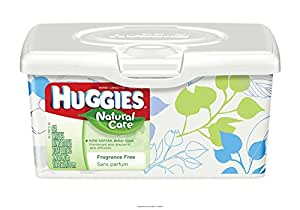 Huggies Natural Care Baby Wipes [HUGGIES NAT CARE UNS WIPES] by Kimberly-Clark
