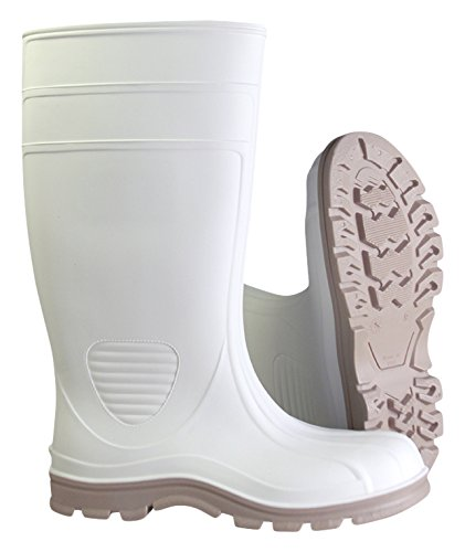 Heartland Footwear 70664-12 15'' Marine Tuff Boot, Size-12, White