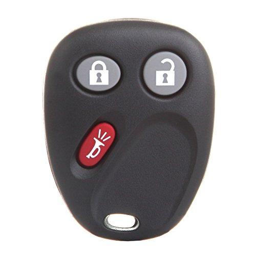 - cciyu 1PC 3 Buttons Keyless Entry Remote Fob Replacement fit for GMC Sierra Yukon/Chevy Avalanche Silverado Suburban Tahoe Equinox/Pontiac Torren/Saturn Vue/Cadillac Escalade/Hummer H2 (LHJ011)