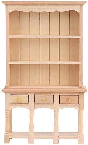 Aelooa 午前1時12ポケットブック内閣ワンダフル木製ミニキャビネットの家具
