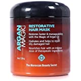 Argan Magic Restorative Hair Mask 8 Oz. Jar by Jocott Brands