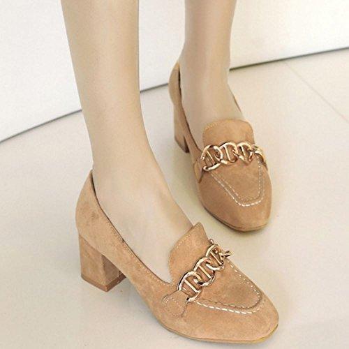 Femmes Chaussures Zanpa Mode Beige Brogue CwxHqda