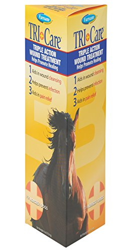 Farnam Tri-Care Triple Action Wound Treatment, 4 (Equine Wound Care)