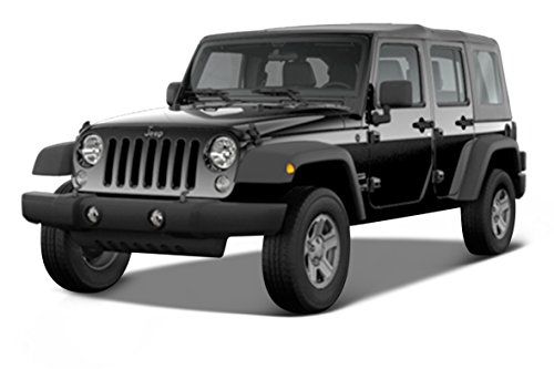 (Maisto Special Edition Trucks 2015 Jeep Wrangler Unlimited Diecast Vehicle (1:24 Scale), Color may vary)