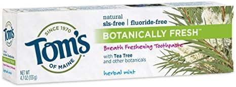 Toothpaste: Tom's of Maine Botanically Fresh