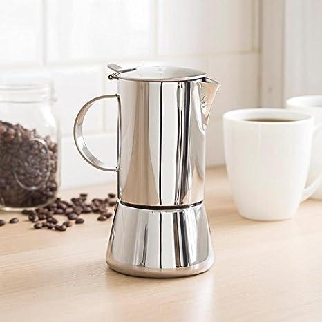 Amazon.com: Vev Vigano Sonia Inox de 4 tazas cafetera ...