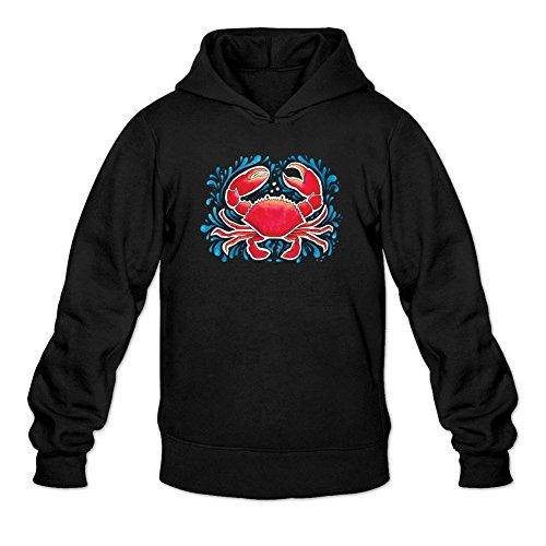 xieling-mens-funny-red-crab-design-sweatshirts-hoodie