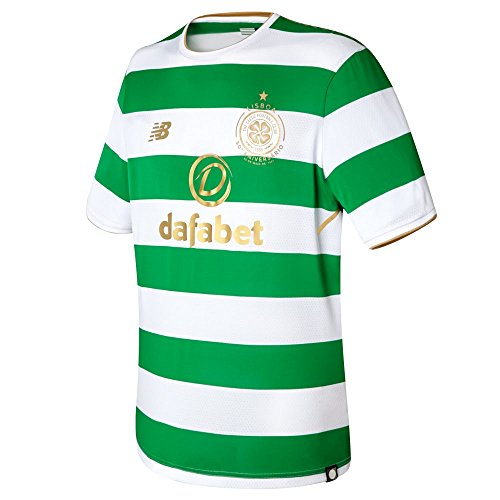 Fc Official Replica Home Jersey - New Balance Celtic FC Home SS Jersey [White] (3XL)