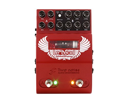 Dual Channel Tube - Two Notes Le Lead Dual Channel Tube Lead Preamp Pedal