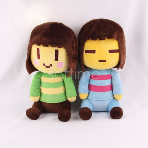 Choun Shiryu Costume (Shalleen SOFT 2PCS Undertale Frisk and Chara Plush Doll Figure Toys 20CM)